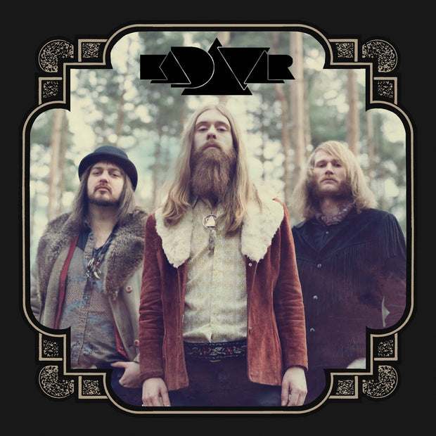KADAVAR Self Titled Band Photo Cover CD