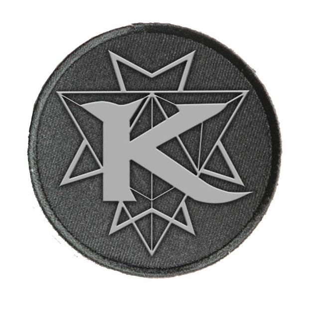 KAMELOT Grey Circle Logo Patch