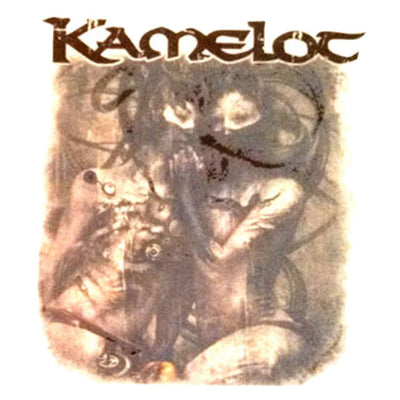 KAMELOT Poetry For the Poisoned Temporary Tattoo