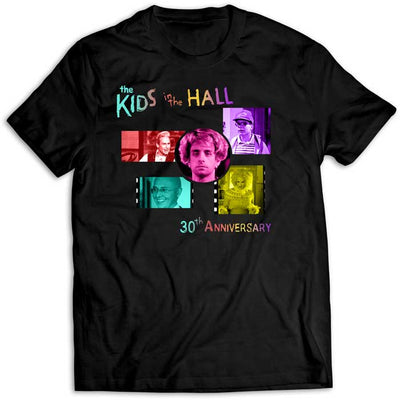 KIDS IN THE HALL 30th Anniversary Black T-Shirt