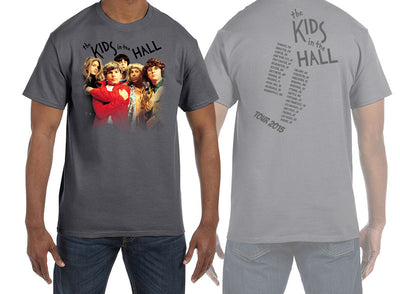 KIDS IN THE HALL Grey Tour Tee