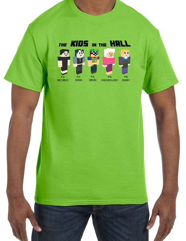 KIDS IN THE HALL Green Avatar Tee