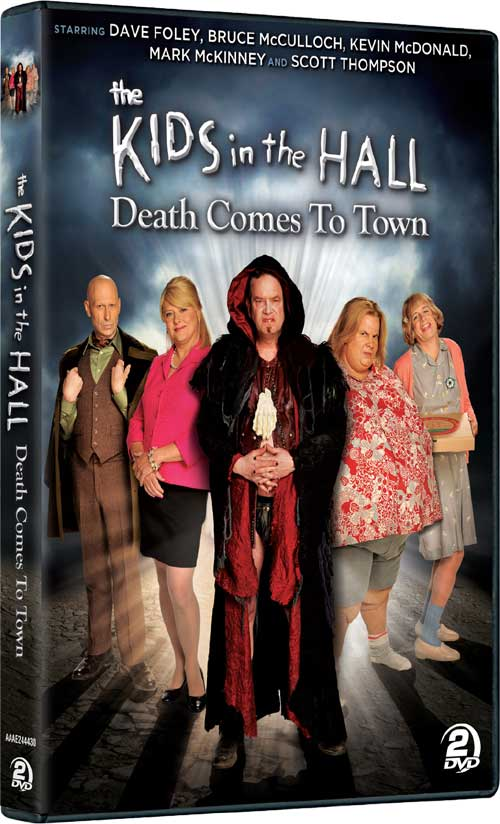 KIDS IN THE HALL Death Comes to Town DVD