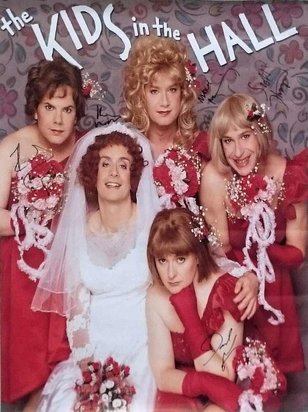 KIDS IN THE HALL Autographed Bridesmaid Poster