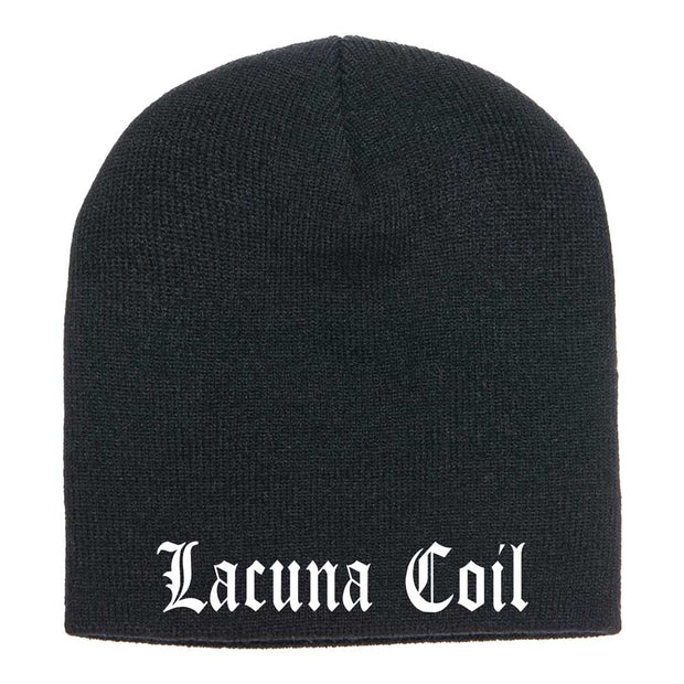 LACUNA COIL Embroidered Logo Beanie