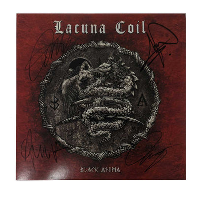 LACUNA COIL Black Anima - Signed LP