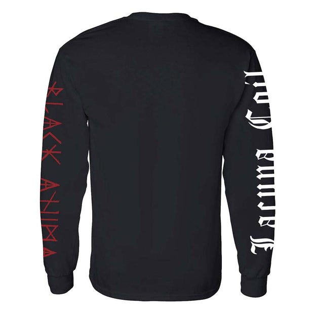 LACUNA COIL Skull and Snake Head Longsleeve