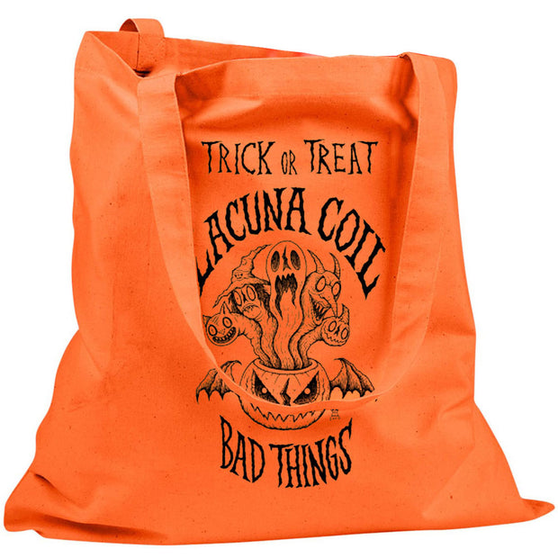 LACUNA COIL Trick or Treat Bad Things Tote
