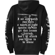 LACUNA COIL Rise to be Divine Zip Hoodie
