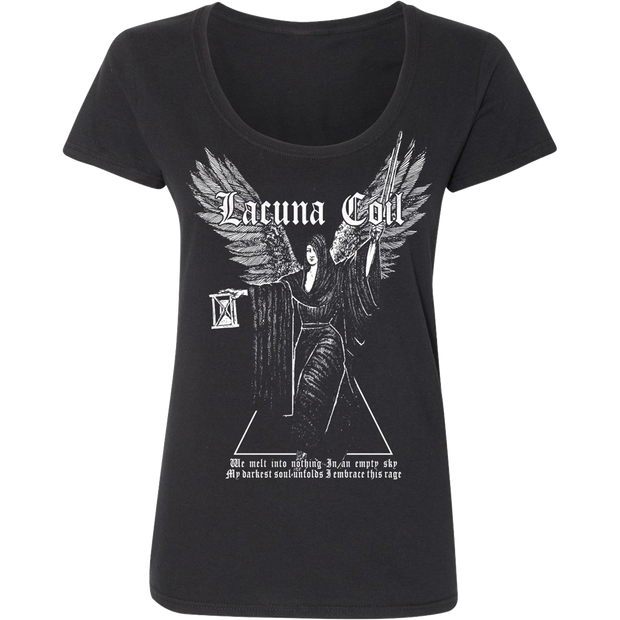 LACUNA COIL Embrace the Rage Ladies T-Shirt