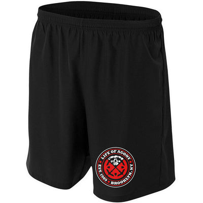 LIFE OF AGONY Logo Shorts