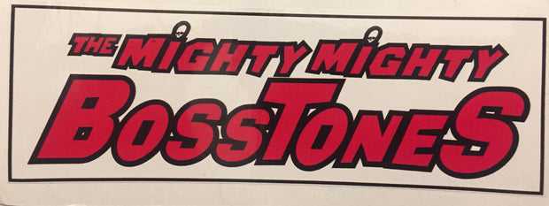 MIGHTY MIGHTY BOSSTONES Logo Sticker
