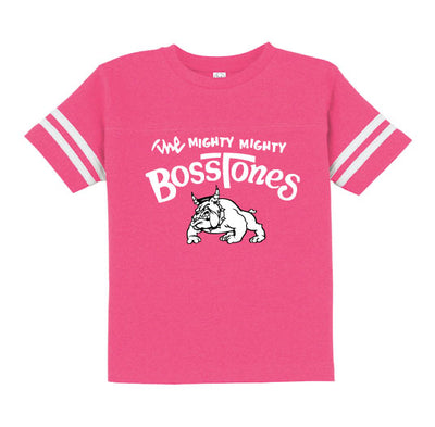 MIGHTY MIGHTY BOSSTONES Logo Toddler Football T-Shirt