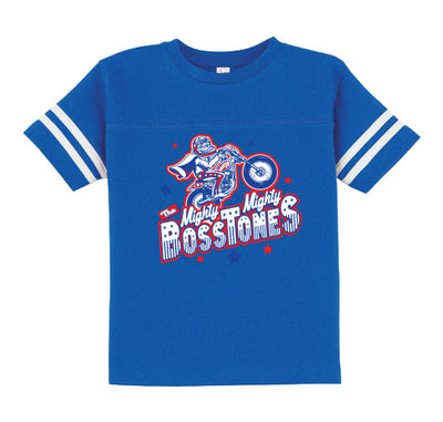 MIGHTY MIGHTY BOSSTONES Evel Knievel Toddler Football Tshirt