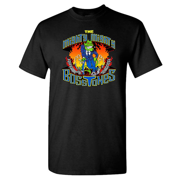MIGHTY MIGHTY BOSSTONES City Fire T-Shirt