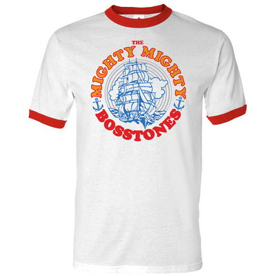 MIGHTY MIGHTY BOSSTONES Clipper Ship Ringer T-Shirt