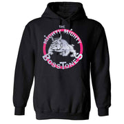 MIGHTY MIGHTY BOSSTONES Vintage Bulldog Pink Circle Pullover Hoodie