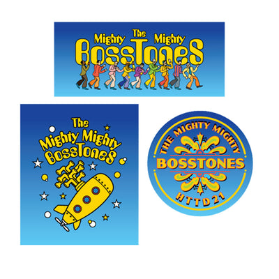 MIGHTY MIGHTY BOSSTONES HTTD21 Sticker Pack