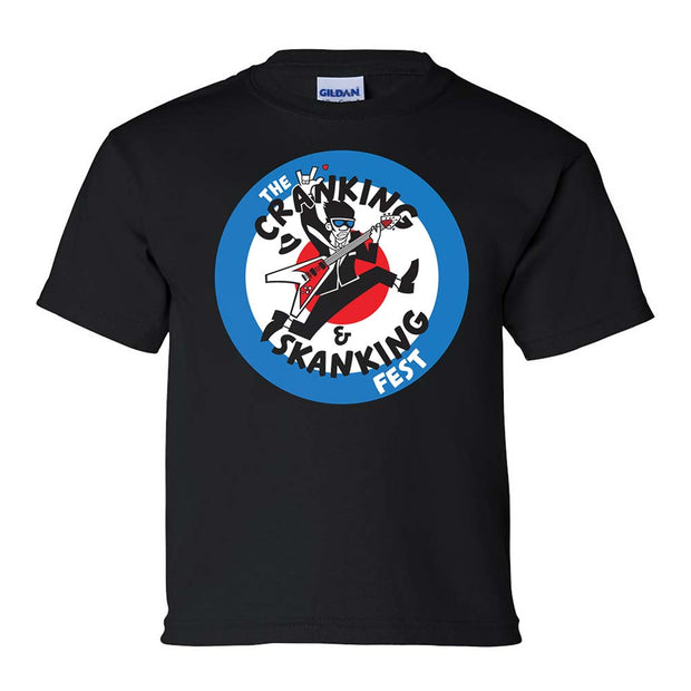 MIGHTY MIGHTY BOSSTONES Cranking & Skanking Fest Youth T-Shirt