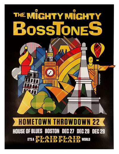 MIGHTY MIGHTY BOSSTONES Hometown Throwdown 22 Poster