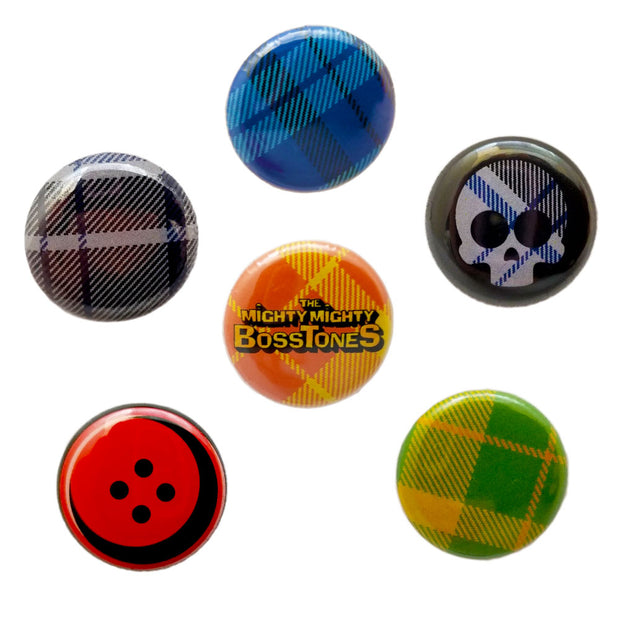 THE MIGHTY MIGHTY BOSSTONES 6 Button Set