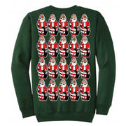 THE MIGHTY MIGHTY BOSSTONES Many Santas Green Sweater