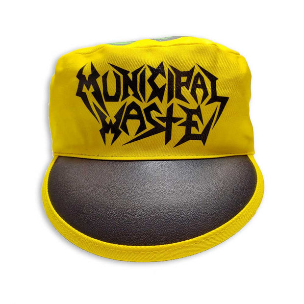 MUNICIPAL WASTE Logo Monster Painters Cap