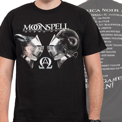 MOONSPELL Black Tour T-Shirt