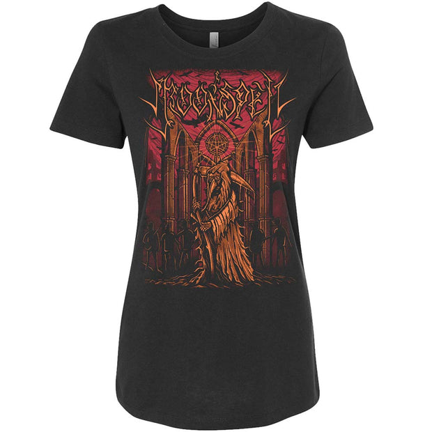 MOONSPELL Reaper In Tremor Dei Black Ladies T-Shirt