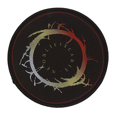 NE OBLIVISCARIS Round Logo Patch
