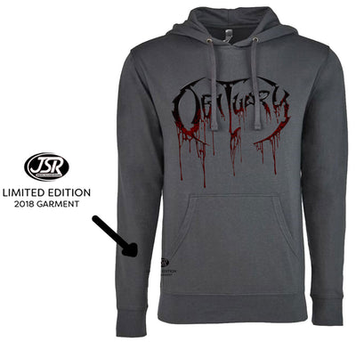 OBITUARY Logo Limited Edition Pullover Hoodie