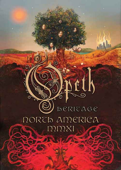 OPETH Heritage/Poster 32X24""