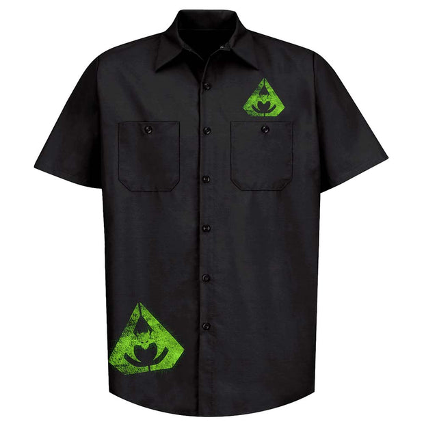 OVERKILL Tri-Bat Wings Of War Workshirt