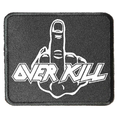OVERKILL Emb Middle Finger Patch