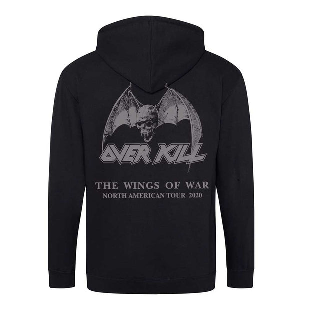 OVERKILL Wrecking Crew Wings Of War 2020 Zip Hoodie