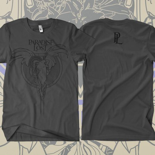 PARADISE LOST Tragic Angel Grey T-Shirt