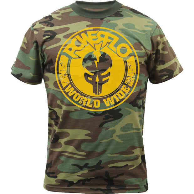 POWERFLO Worldwide-mfp  Camo T-Shirt