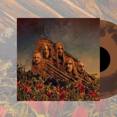 "OPETH Garden Of The Titans Gold 12"" LP"