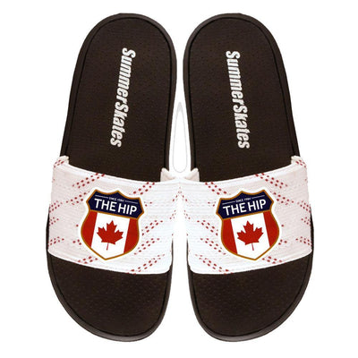 THE TRAGICALLY HIP Summer Skates Slide Sandals