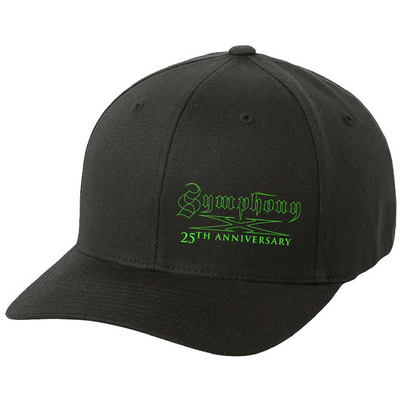 SYMPHONY X 25th Anniversary - Green Logo Flex Fit Hat
