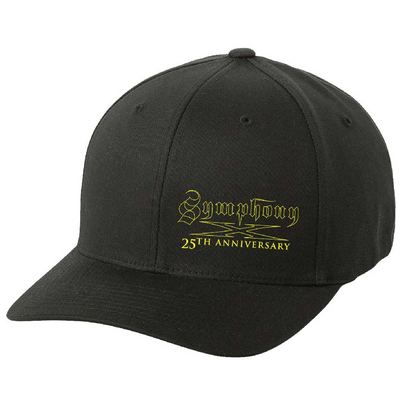 SYMPHONY X 25th Anniversary - Yellow Logo Flex Fit Hat