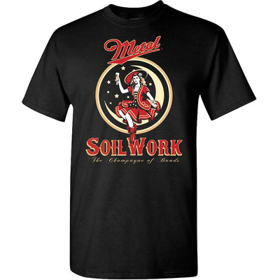SOILWORK Moon Girl Beer T-Shirt