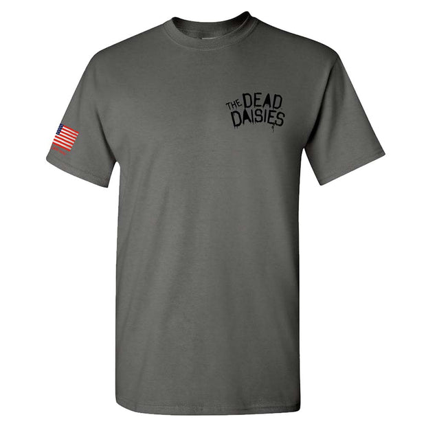 THE DEAD DAISIES Live Louder - USA Flag T-Shirt
