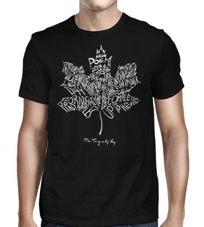 THE TRAGICALLY HIP Man Machine Poem Leaf T-Shirt