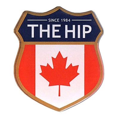 THE TRAGICALLY HIP Crest Logo Magnet