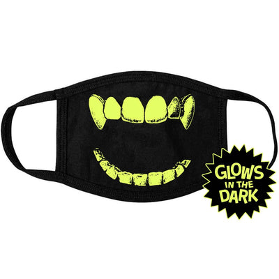 NOVELTEE Glow Vampire Mouth Face Mask
