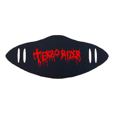 TERRORIZER Red Logo Facemask
