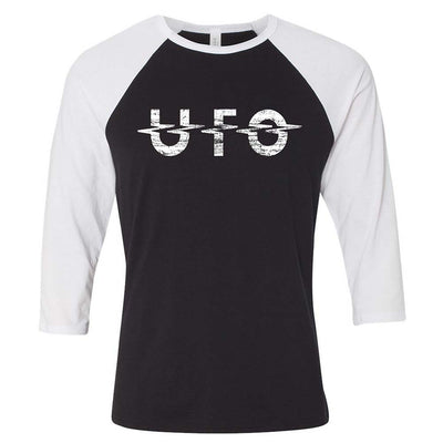 UFO Destressed Logo Raglan