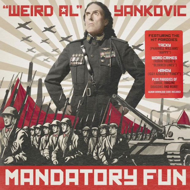 "WEIRD AL YANKOVIC Mandatory Fun 12"" LP"