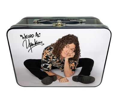 WEIRD AL YANKOVIC Seated Al Photo Lunchbox